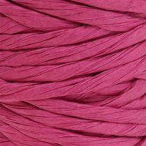 Papierkordel 6mm 23m Pink
