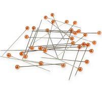 Perlkopfnadeln Ø6mm 65mm Orange