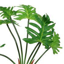 Philodendron Pflanze künstlich Grün 58cm
