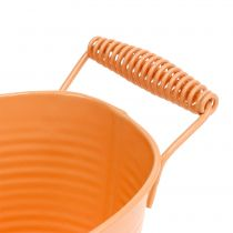 Schale oval Pastell Orange 20cm x 12cm H9cm