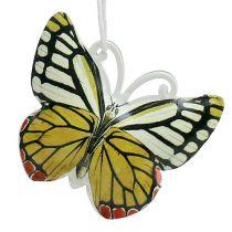 Schmetterling zum Hängen bunt sortiert 5,5cm 3St