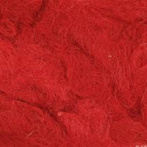 Sisal Rot 500g Naturfaser