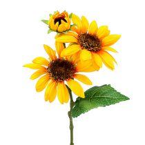 Sonnenblumen Kunstblumen Ø9cm Gelb L24cm 4St