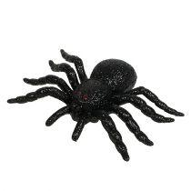 Spinne, Fledermaus Figuren Schwarz 10cm, 14cm 3St
