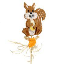 Stecker Igel, Eichhörnchen L30cm 12 Stück