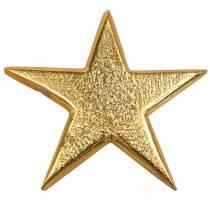 Sterne aus Metall Golden 7,8×7,4cm/6,4×6,2cm 8St