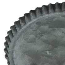 Dekoteller Backform-Set Zink Ø7,8–11,5cm H1,3cm
