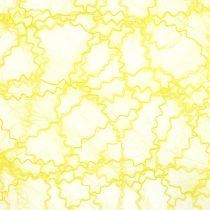 Tischläufer Sizotwist Gelb 30cm 5m