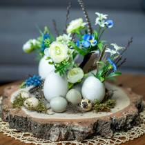 Truthahn Eier Natur 6,5cm 12St