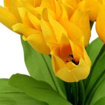 Tulpenbusch Gelb H30cm