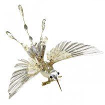 Kolibri, Christbaumschmuck, Deko-Vogel, Weihnachtsdeko L20cm B20cm