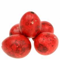 Wachteleier Rot Ausgeblasene Eier 50St