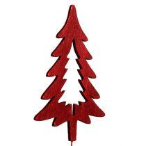 Weihnachtsstecker Rot sort. 16St