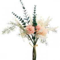 Wiesenblumenstrauß künstlich Blumenstrauß Seidenblumen H42cm