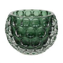 Windlicht Glas Dunkelgrün Ø11,5cm H9cm 1St