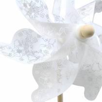 Windmühle Weiß Ø30cm