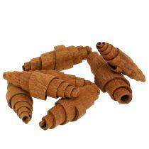 Zimt Croissant Deko 6,5cm - 7cm 30St