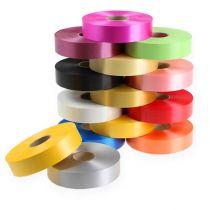 Kräuselband 30mm 100m vers. Farben