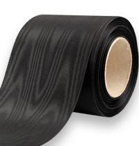Kranzband Schwarz 75mm 25m