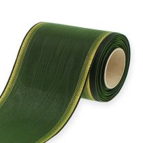 Kranzband Moiré 125mm, Dunkelgrün