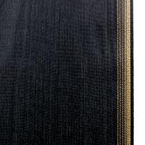 Kranzband Moiré 100mm, Schwarz