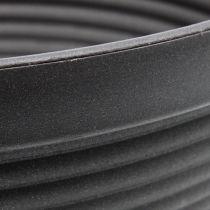 R-Schale Plastik Anthrazit Ø13cm - 19cm 10St