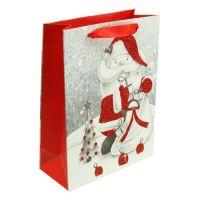 Geschenktüte Santa 32cm x 26cm x 10cm