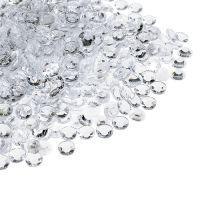 Acryldiamanten Ø4mm klar 110g