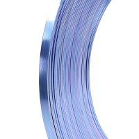 Aluminium Flachdraht Flieder 5mm 10m