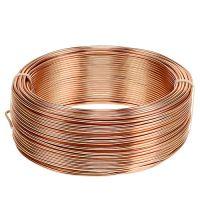 Aluminiumdraht Ø2mm Kupfer 500g (60m)