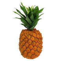 Ananas künstlich 25cm Orange