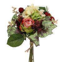 Blumenstrauß herbstlich Ø20cm L28cm