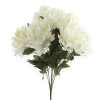Chrysanthemenbusch Creme 47cm 2St