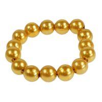 Deko-Perlen Gold Ø8mm 250St