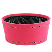 Deko Schale pink Ø20cm H9cm