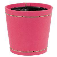 "Deko Topf ""Suki"" pink Ø12,5cm H12,5cm"