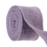 Filzband Emotion mit Lavendelblüten 15cm x 5m Lila