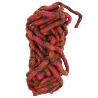 Filzschnur 25m Braun, Rot, Pink