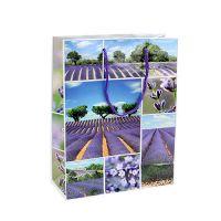 Geschenktüte Lavendel Motiv 18cm x23cm 1St