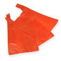 Hemdchenbeutel Orange 30cm x 18cm x 55cm 100St.