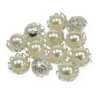 Hochzeit Streudeko Perlen Creme Ø13mm 48St