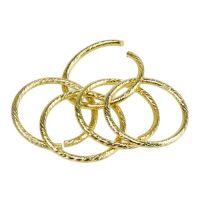 Hochzeitsringe Gold Ø3cm 25St