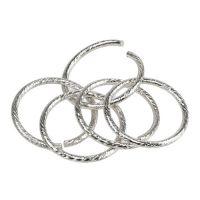 Hochzeitsringe Silber Ø3cm 25St