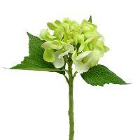 Hortensie künstlich Grün 33cm 1St