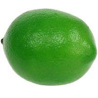 Limette Grün künstlich 7cm