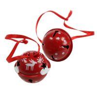 Glöckchen Schellen Rot, Weiß 23St