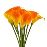 Mini Calla künstlich gelb 28cm 12St