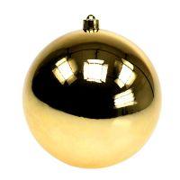 Plastikkugel Gold Ø14cm 1St