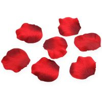 Streudeko Rosenblätter Rot 75St