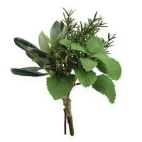 Deko Kräuter Rosmarin-Olivenbund 20cm